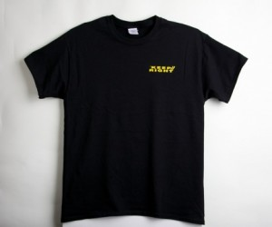 Front side of the Keep Right t-shirt